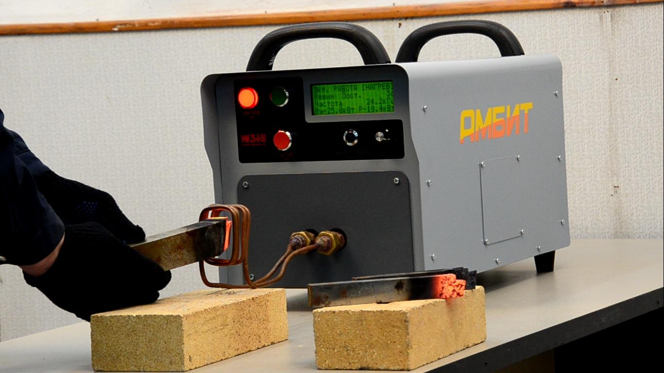 Индуктивный нагреватель металла